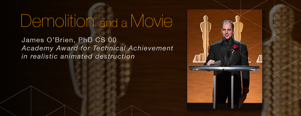 Academy Award honoree James O'Brien