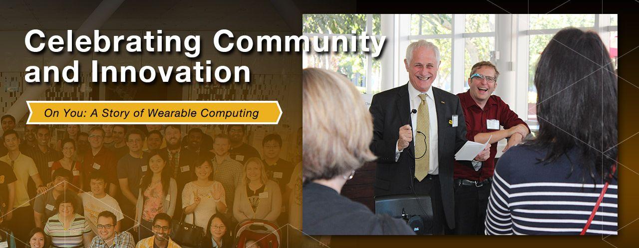 On You Wearable Computing Exhibit - Alumni Receptions