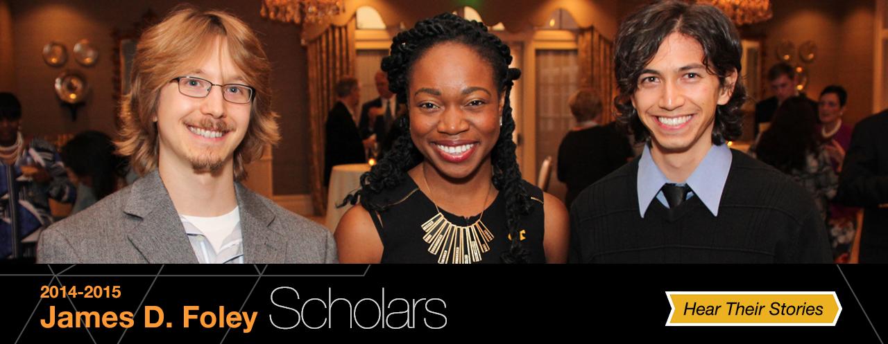 Foley Scholars 2014-15